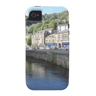 Matlock Bath in Derbyshire Vibe iPhone 4 Cases