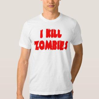Mato a la camisa de los zombis
