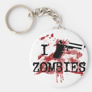 Mato a zombis llavero personalizado
