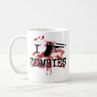 Mato a zombis taza de café