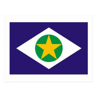 Mato Grosso, Brazil Flag Postcards