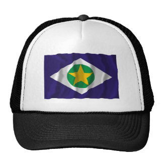 Mato Grosso, Brazil Waving Flag Trucker Hat