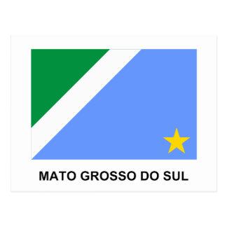 Mato Grosso do Sul, Brazil Flag Post Cards