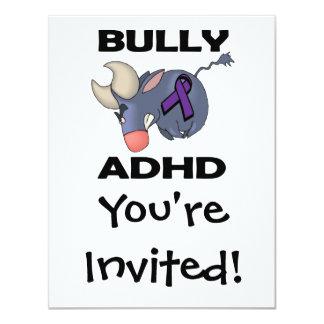 Matón ADHD Invitación 10,8 X 13,9 Cm
