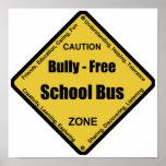 Matón - autobús escolar libre poster