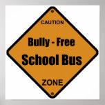 Matón - autobús escolar libre posters