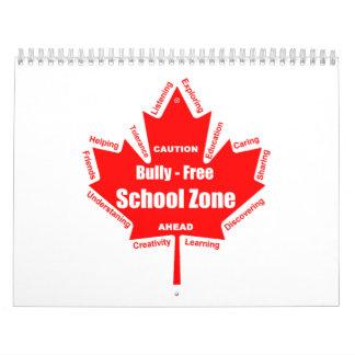 Matón - calendario de la escuela libre Canadá