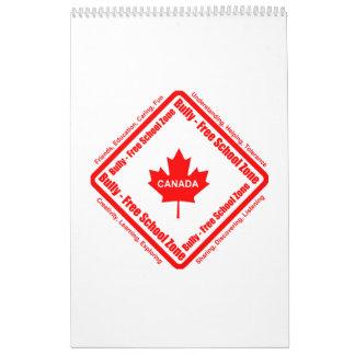 Matón - calendario de la escuela libre (Canadá)
