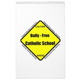 Matón - calendario libre de la escuela católica