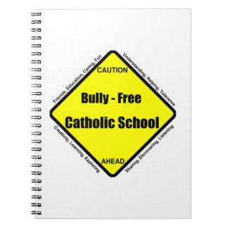 Matón - cuaderno libre de la escuela católica