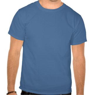 Matón de la pequeña gente del vintage (blanco) camisetas