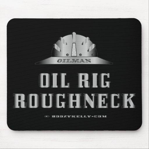 Matón de la plataforma petrolera, campo petrolífer tapete de ratones