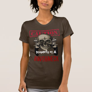 Matón de la precaución camiseta