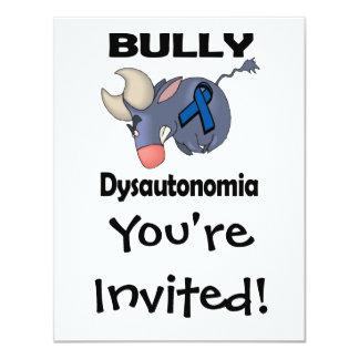 Matón Dysautonomia Invitación 10,8 X 13,9 Cm