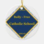 Matón - escuela católica libre adornos de navidad