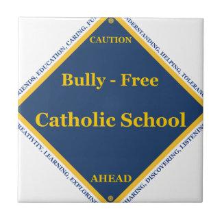 Matón - escuela católica libre azulejo cuadrado pequeño