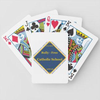 Matón - escuela católica libre barajas de cartas