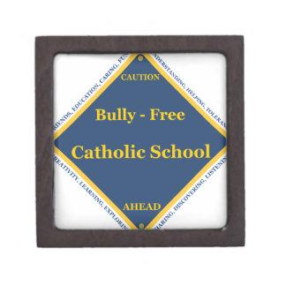 Matón - escuela católica libre caja de recuerdo de calidad