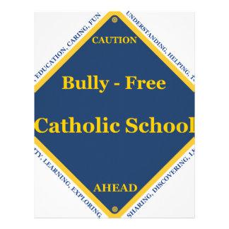 Matón - escuela católica libre plantillas de membrete