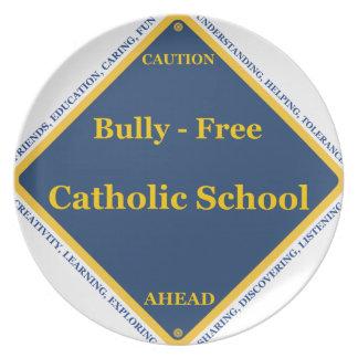 Matón - escuela católica libre platos para fiestas