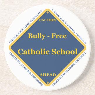 Matón - escuela católica libre posavasos cerveza