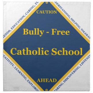 Matón - escuela católica libre servilletas
