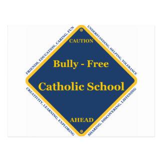 Matón - escuela católica libre tarjeta postal