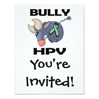 """Matón HPV Invitación 4.25"""" X 5.5"""""""
