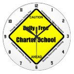 Matón - reloj de pared libre de la escuela autónom