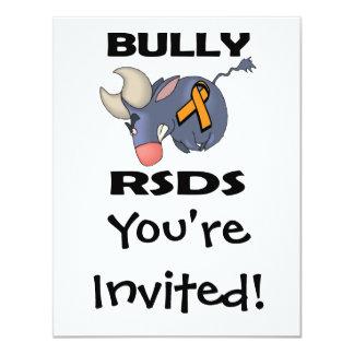 Matón RSDS Invitación 10,8 X 13,9 Cm