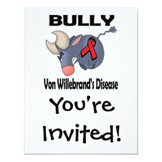 Matón Von Willebrands Disease Comunicado Personalizado