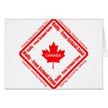 Matón - zona Canadá de la escuela libre Tarjeta
