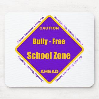 Matón - zona de la escuela libre alfombrillas de raton