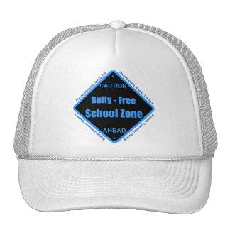 Matón - zona de la escuela libre gorras