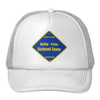 Matón - zona de la escuela libre gorras de camionero