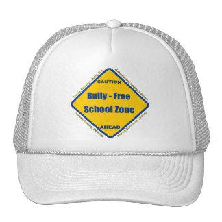 Matón - zona de la escuela libre gorros
