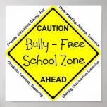 Matón - zona de la escuela libre impresiones