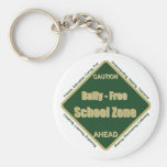 Matón - zona de la escuela libre llavero
