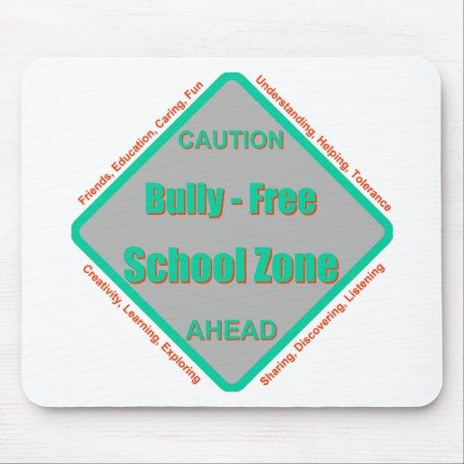 Matón - zona de la escuela libre tapete de raton