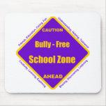 Matón - zona de la escuela libre alfombrilla de ratón