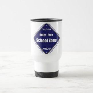 Matón - zona de la escuela libre taza