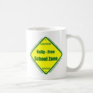 Matón - zona de la escuela libre taza de café