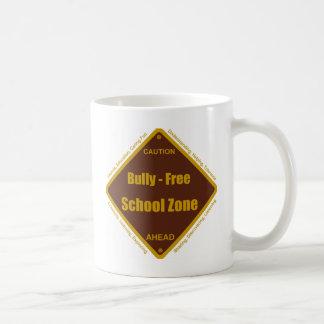 Matón - zona de la escuela libre tazas