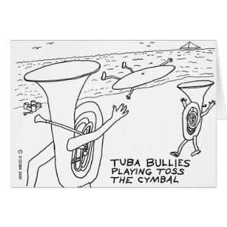 Matones de la tuba tarjeton