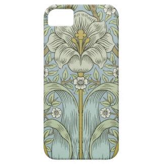 Matorral Desig floral de la primavera del vintage iPhone 5 Protector
