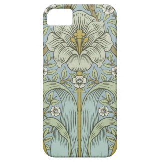 Matorral Desig floral de la primavera del vintage iPhone 5 Carcasa