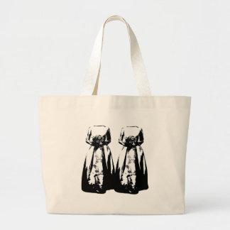 Matrimonio homosexual - bolsas lienzo
