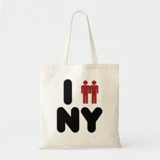 Matrimonio homosexual de Nueva York Bolsa Tela Barata