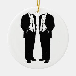 Matrimonio homosexual adornos de navidad