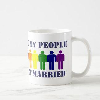 Matrimonio homosexual e igualdad taza clásica